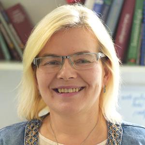 Prelegentka Ewa Augustynowicz