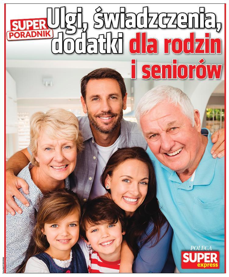 Super Poradnik Ulgi, świadczenia, dodatki dla rodzin i seniorów