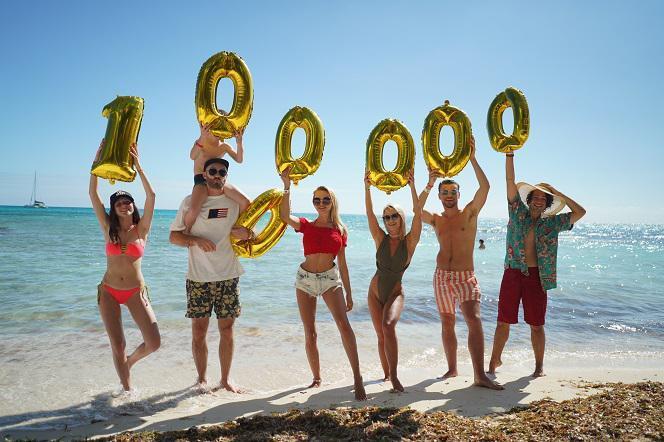 ROKSANA WĘGIEL ma milion! Making of zdjęcia z gwiazdami EOZ