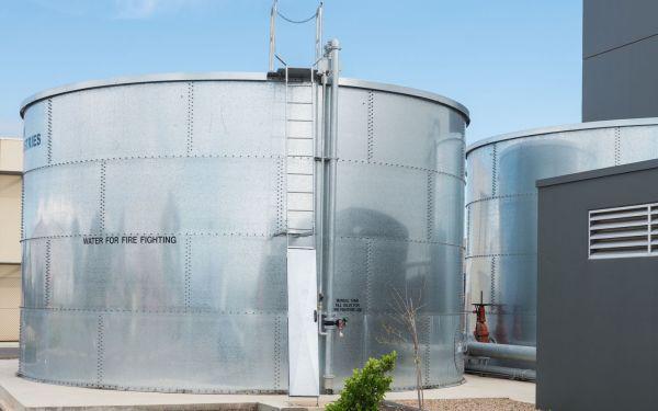 Zbiorniki przeciwpożarowe dla obiektów przemysłowych. Rodzaje zbiorników ppoż., przepisy